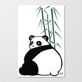 Big Butt Panda Canvas Print