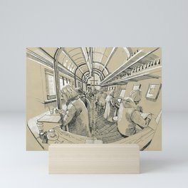 Barbarella Mini Art Print
