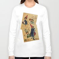 over the garden wall Long Sleeve T-shirts featuring Over The Garden Wall by Dasha Borisenko