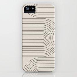 Arch Art, Modern Pattern, Mid Century  iPhone Case