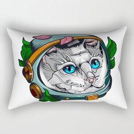Spacecat Rectangular Pillow