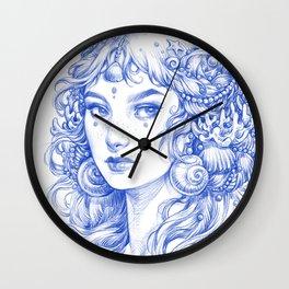 Sea Maiden Wall Clock