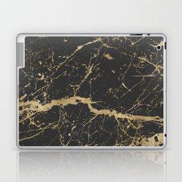 Marble Black Gold - Whistle Laptop & iPad Skin