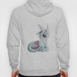 Mother and Baby Dragon Hoody