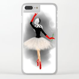 Wealthy Heiress Clear iPhone Case