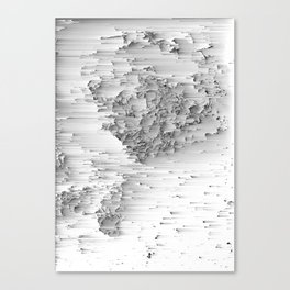 Japanese Glitch Art No.1 Canvas Print