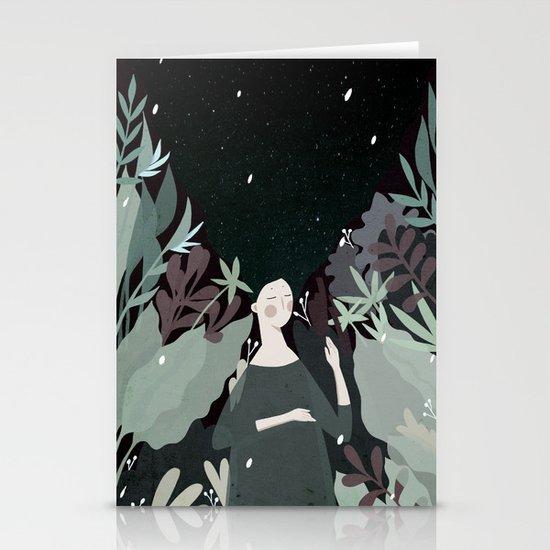 sleepiness Stationery Cards