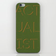 Actualist iPhone & iPod Skin