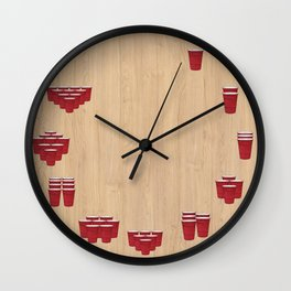 Fraturday Wall Clock