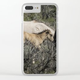 Young but Keeping Up Clear iPhone Case
