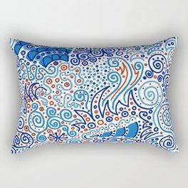 Ka-doodle Doodle Dooooo! Rectangular Pillow