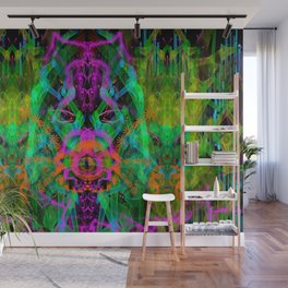 A Trinitarian From Hoag's Object (scifi, visionary) Wall Mural
