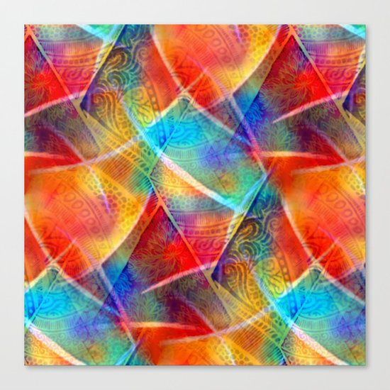 Boho Rainbow Canvas Print