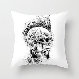 Broken Bones Throw Pillow