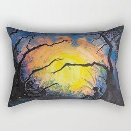 Soul Offering Rectangular Pillow