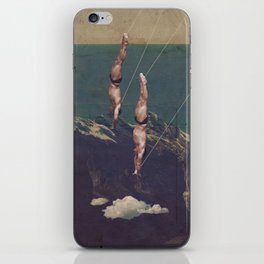 High diving iPhone Skin