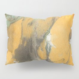 Marbled Ink - Autumn Colors Pillow Sham