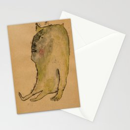 created with subconscious thought Stationery Cards