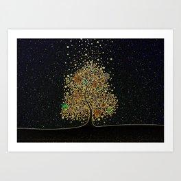 The Luminous Tree Art Print