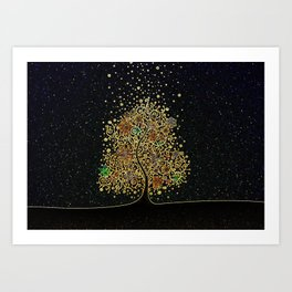 The Luminous Tree Art Print