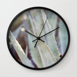 Winter Agave #3 Wall Clock