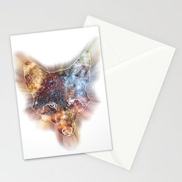 Star Coyote Stationery Cards