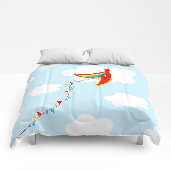 Kite Bird Comforters