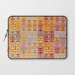 Retro African Textile Warm Tones Laptop Sleeve