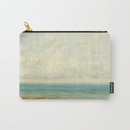Calm Sea Oil Painting by Gustave Courbet Carry-All Pouch