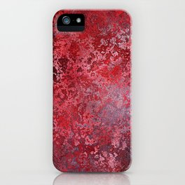 Bloody decor | Halloween | Scabby | Blood | Gothic background iPhone Case