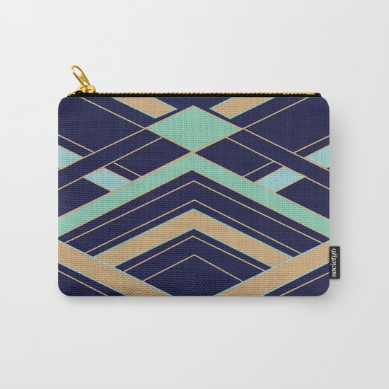 Art Deco Fast Carry-All Pouch