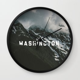 Washington Type Wall Clock