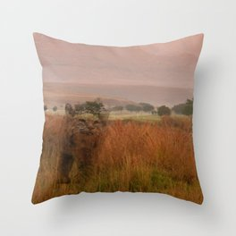 Purffectly Mystical Throw Pillow