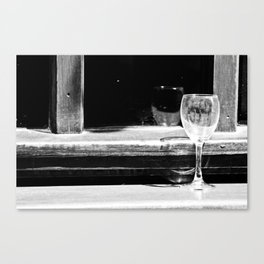 Fancy a glass of wine? Canvas Print