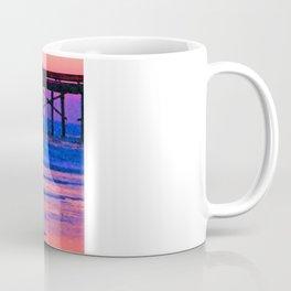 Neon Skimboarder Coffee Mug