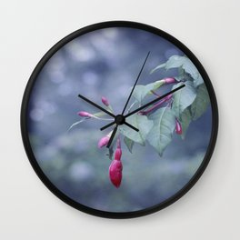 Nature in pastel Wall Clock