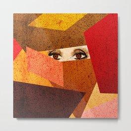 Desert Eyes Metal Print