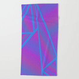 Every Little Thing is Gonna Be Alright Beach Towel