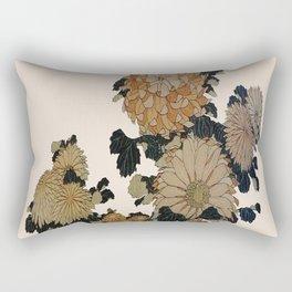 Hokusai, great flowers Rectangular Pillow