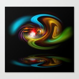 Abstract Perfection - Magical Light And Energy 2 Canvas Print
