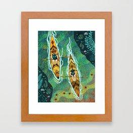 Kayaking Framed Art Print