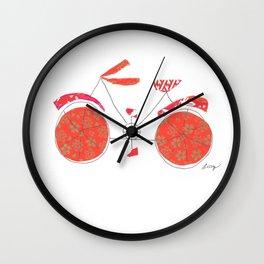 Push Bike Wall Clock