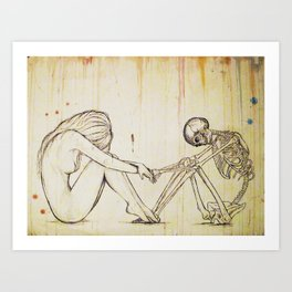 Death's Dance Art Print