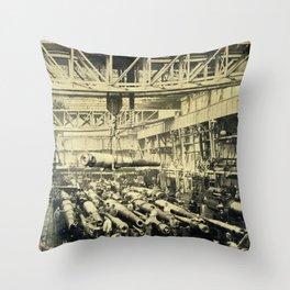 an uncertain future Throw Pillow