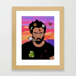 Childish Gambino Framed Art Print