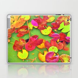 Lily Pad Faces Laptop & iPad Skin