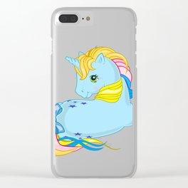 g1 my little pony rainbow Starflower Clear iPhone Case