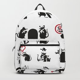 Pattern Rats Backpack