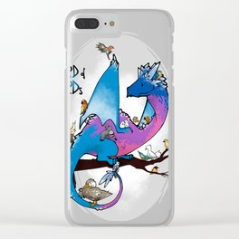 Hoard of birds Clear iPhone Case