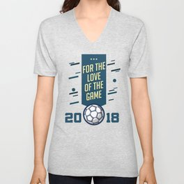 For The LOVE Of The GAME Unisex V-Neck